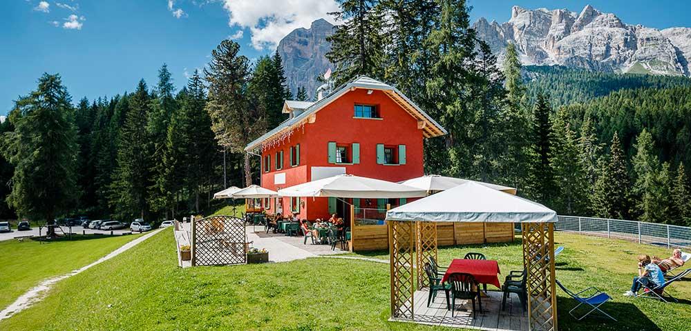 Hotel a Cortina nelle Dolomiti
