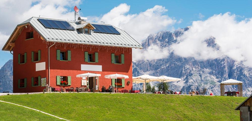 Un nuovo hotel ecosostenibile a Cortina d'Ampezzo