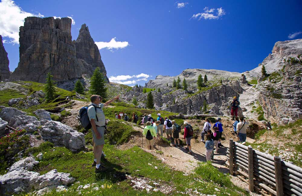 Trekking nel Parco delle Dolomiti d'Ampezzo
